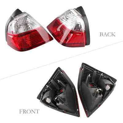 One Pair Trunk Tail Light Lens Cover Fit Honda Goldwing GL1800 2001-2005 Clear