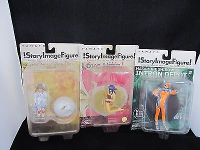 3 NEW Yamato Story Image Figure Maple Orange Moca Kanako Shirow Love Hina