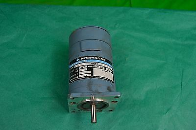 New Superior Electric Slo-syn Synchronous Stepping Motor SS91T, 1ph, 120v, 72rpm