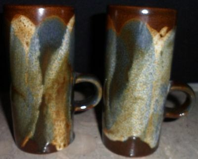 Handcrafted Clay Pottery Coffe D Vito Latte Cups Expresso Cappuccino Mugs Phil R
