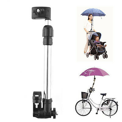 New Baby Buggy Pram Bicycle Stroller Chair Umbrella  Holder Mount Stand Handle
