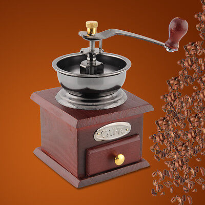 Quality Classic Antique Essential Manual Hand Coffee Bean Grinder  Coffee mill