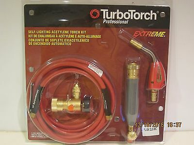 TURBOTORCH PROFESSIONAL, 0386-0834 Acetylene Kit, PL-8A DLX-MC-FREE SHIP NISP!!!