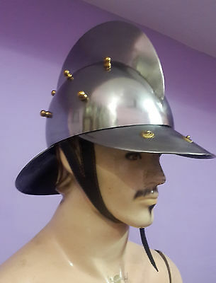 Spanish Armor Helmet ~Spanish Warrior Army Helmet~Medieval Knight Crusader~Armor