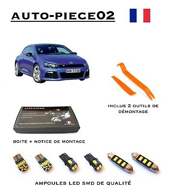 Pack FULL LED intérieur pour Volkswagen Scirocco