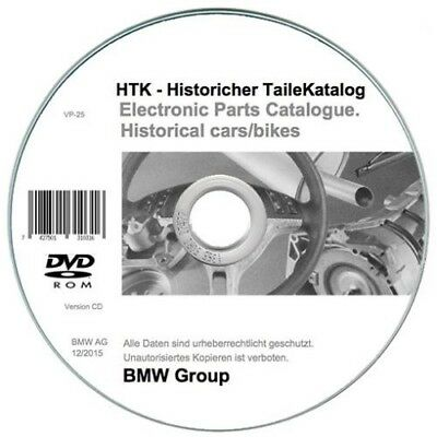 Bmw HTK vintage cars & bikes parts catalogue - auto & moto storiche cat. ricambi
