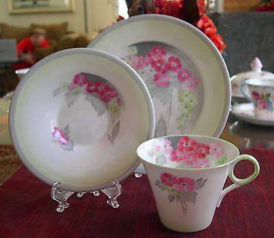 SHELLEY Fine Bone China    **PHLOX**  Regent shaped  TRIO