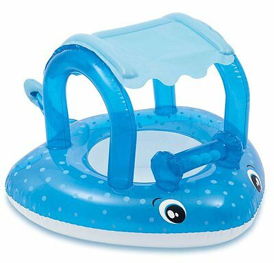 """Intex Mushroom Inflatable Baby Pool w/ Sunshade 40""""X35"""",for Ages 1-3 Great Gift"""