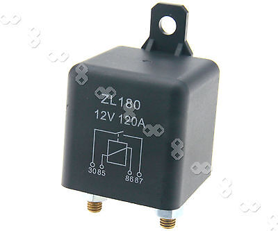 Heavy Duty 120A 12V Split Charge ON/OFF Relay Car Van Boat 4 Pin