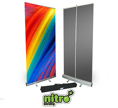 Roller Banner Display Stand - Pull/Roll Up Sign Exhibition Trade Show