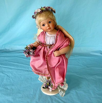 Georgetown Collection Porcelain Doll Ann Timmerman Arielle the Spring Angel