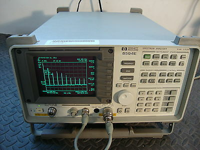 HP Agilent 8594E Spectrum Analyzer Calibrated !  w OPTS ! TRACKING GENERATOR