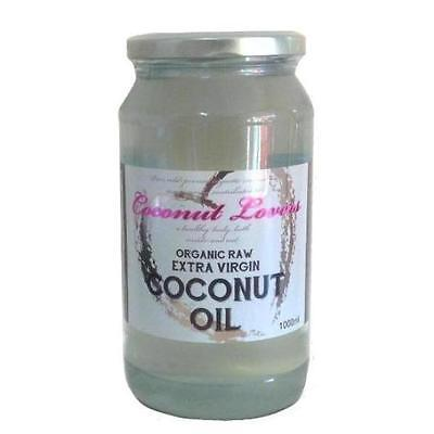 Certified Organic Coconut Oil 1Litre – Premium Raw Extra Virgin