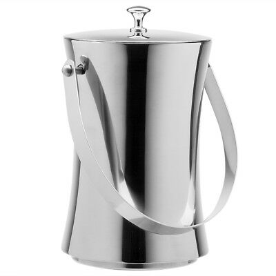 NEW Peter's Polished Stainless Steel Small Ice Bucket