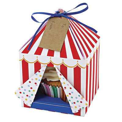 NEW Meri-Meri Toot Sweet Cupcake Box Small