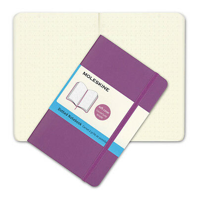 NEW Moleskine Classic Soft Cover Pocket Dotted Notebook Orchid
