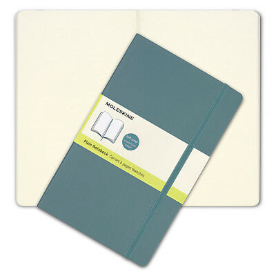 NEW Moleskine Classic Soft Cover Large Plain Notebook Blue