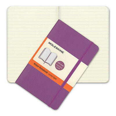 NEW Moleskine Classic Soft Cover Pocket Ruled Notebook Orchid