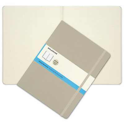 NEW Moleskine Classic Soft Cover X-Large Dotted Notebook Khaki