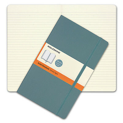 NEW Moleskine Classic Soft Cover Large Ruled Notebook Blue