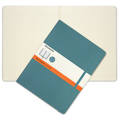 NEW Moleskine Classic Soft Cover X-Large Ruled Notebook Blue