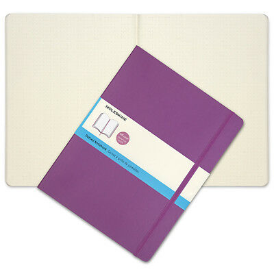 NEW Moleskine Classic Soft Cover X-Lrg Dotted Notebook Orchid