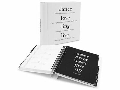 NEW Galison 'Dance, Love, Sing, Live' Quotable Address Book