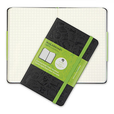NEW Moleskine Evernote Hard Cover Squared Pocket Notebook