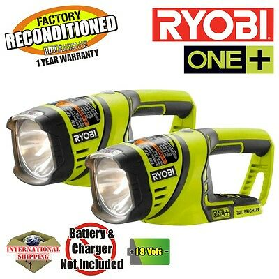 Ryobi P704 18-Volt One+ Worklight ZRP704 Reconditioned (2-Pack)