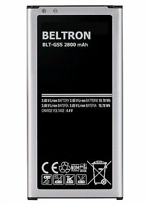 New Beltron Battery For Samsung Galaxy S5 GS5 EB-BG900BBC i9600 G900A 2800 MAH