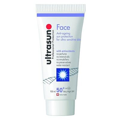 Ultrasun Face SPF50 (100ml) Once a Day - FREE Express P&P - Same Day Despatch
