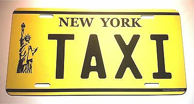 New York State License Plate, TAXI, New York Taxi License plate, AUTO & TRUCK