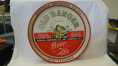 """12"""" Beer Tray-OLD RANGER BEER & ALE- Hornell Brew.Co. Inc. Hornell,NY"""