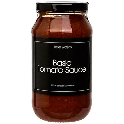 NEW Peter Watson Basic Tomato Sauce for Pasta 500ml