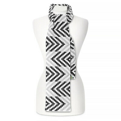 NEW Otto & Spike In & Out Black and White Scarf