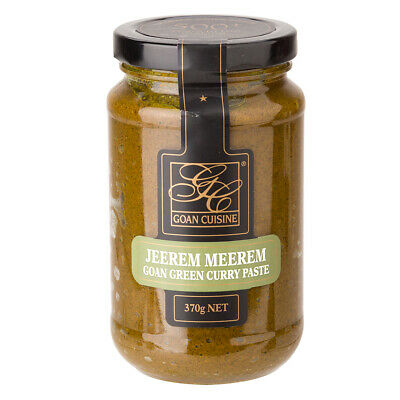 NEW Goan Jeerem Meerem Green Curry Paste 370g