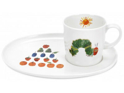 NEW Portmeirion Very Hungry Caterpillar Mug & Snack Plate Set