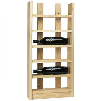 NEW Traditional Wine Rack Co Scallop Six-Bottle Wine Rack