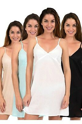 Cotton Slip by Spirituelle - Clara in Five Colours, New Cool Voile Size XS - 3XL
