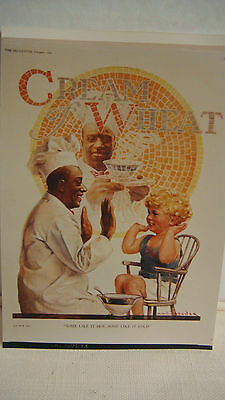 Cream Of Wheat Ad Advertising 8 1924 Reprint & Negative Some Like It Hot