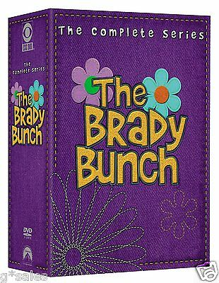 The Brady Bunch Complete Series Season 1-5 (117 EPISODES) NEW 20-DISC DVD SET