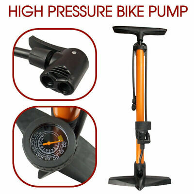 High-Pressure Hand Pump Bicycle Ball Motorbike Car Tyre Inflater Tire Air 160PSI