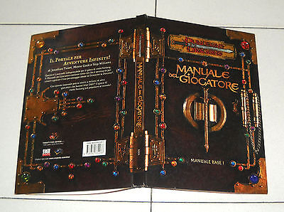 D&D MANUALE DEL GIOCATORE Manuale Base I 1 - 25edition 2000 Dungeons & Dragons
