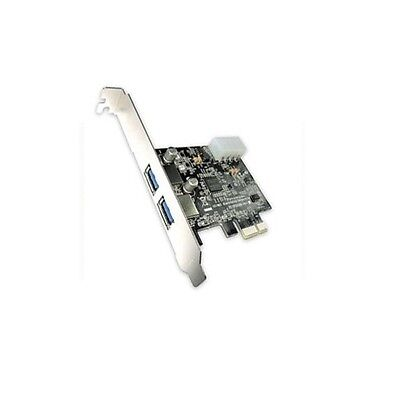 2x USB 3.0 EXTERNAL PORTS SUPER SPEED PCI-EXPRESS PCI-e EXPRESS CARD PCI ADAPTER