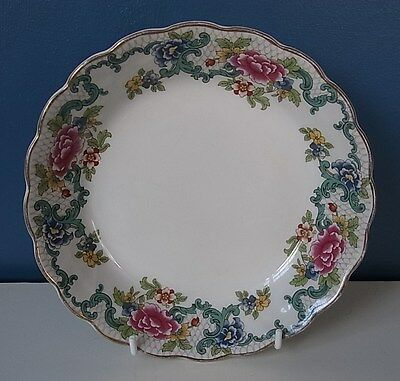 "LOVELY BOOTHS ""FLORADORA"" COUPE SOUP or DESSERT BOWL - 7 1/8"" - 1970's - VGC"