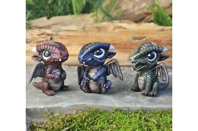 My Fairy Gardens Mini - Baby Dragons Set of 3 - Supplies Accessories