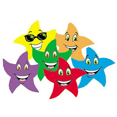 96 star smiles FRUIT PUNCH Scratch and Sniff reward Stickers n'