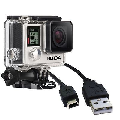 2in1 Cable Kit for GoPro Hero HD 4/3+/3, Mirco HDMI Audio Video Cable+USB Cord