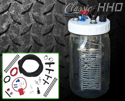 Classic-HHO 1 Cell Hydrogen Generator Kit Diesel or Gas Engine. Save on Fuel