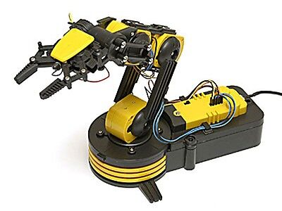 Robotic Arm Kit with USB PC Interface - GorillaSpoke for Free P&P to IRE & UK!